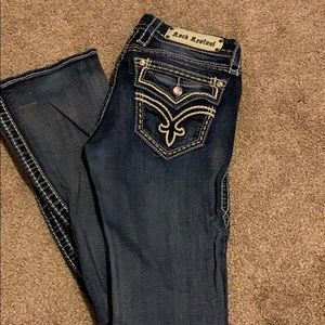 Rock revival bootcut jeans.